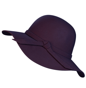 Purple Felt Hat by Fun