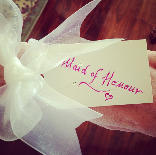 Maid of Honour tag