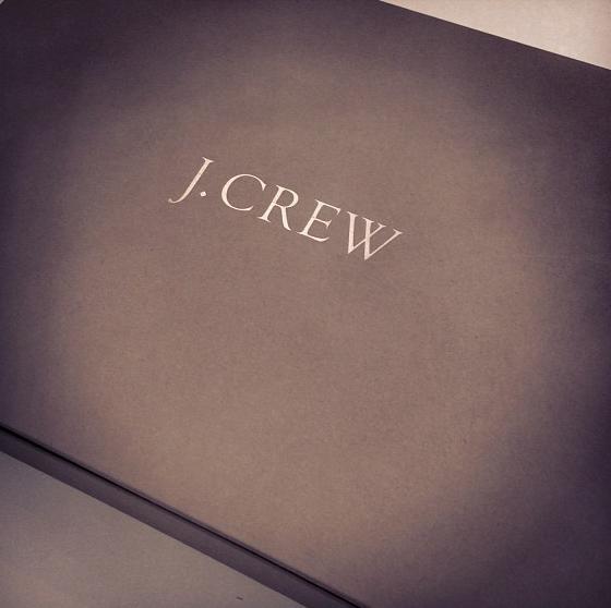 JCrew box