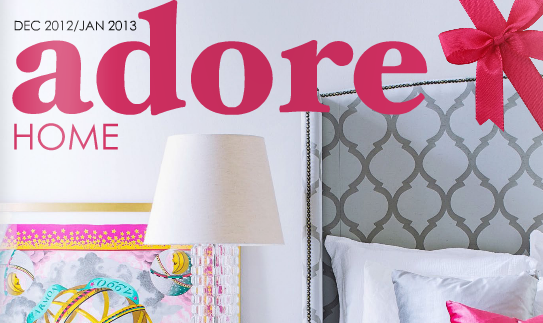 Adore Home Magazine Dec/Jac