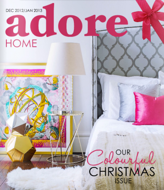 Adore Home Magazine, Dec/Jan issues