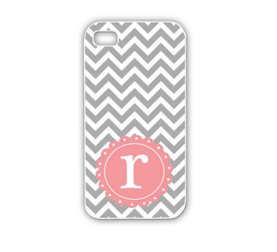 Monogrammed iPhone case